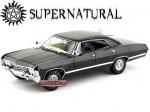 """1967 Chevrolet Impala Sport Sedan """"Suprnatural TV Series"""" Negro Greenlight 19001"""