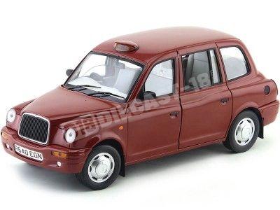 1998 Austin TX1 London Taxi Cab Targa Red Sun Star 1126