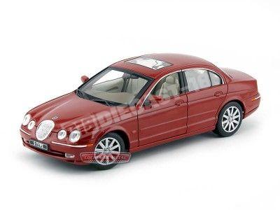 1998 Jaguar S-Type Granate Metalizado 1:18 Welly 19838 Cochesdemetal.es