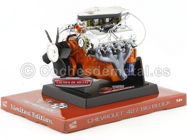 Motor Chevrolet 427 Big Block L89 Tri-Power 1:6 Liberty Classics 84030 Cochesdemetal.es