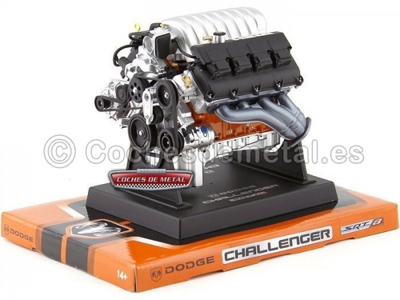 Motor Dodge Challenger SRT-8 Hemi 6,1L 1:6 Liberty Classics 84033 Cochesdemetal.es
