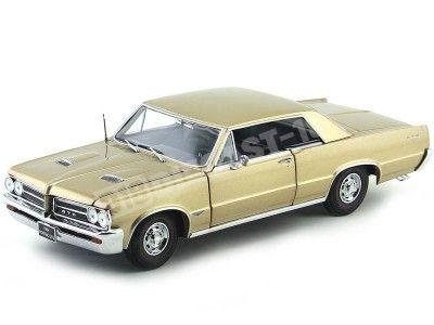 1964 Pontiac GTO Saddle Bronze 1:18 Sun Star 1825 Cochesdemetal.es