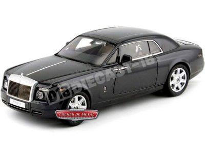 2012 Rolls-Royce Phantom Coupe Darkest Tungsten 1:18 Kyosho 08861TG Cochesdemetal.es