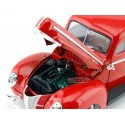 1940 Ford Deluxe Rojo 1:18 Motor Max 73108 Cochesdemetal.es