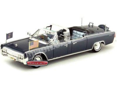 1961 Lincoln X-100 Kennedy Car Limousine 1:24 Lucky Diecast 24048 Cochesdemetal.es