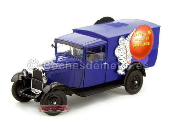 "1930.- CAMION CITROEN C4 ""GONFLAGE MICHELIN"" (SO118700). Cochesdemetal.es"