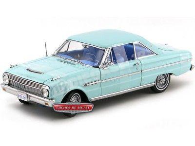 1963 Ford Falcon Futura Hard Top Chalfonte Blue 1:18 Sun Star 4541 Cochesdemetal.es