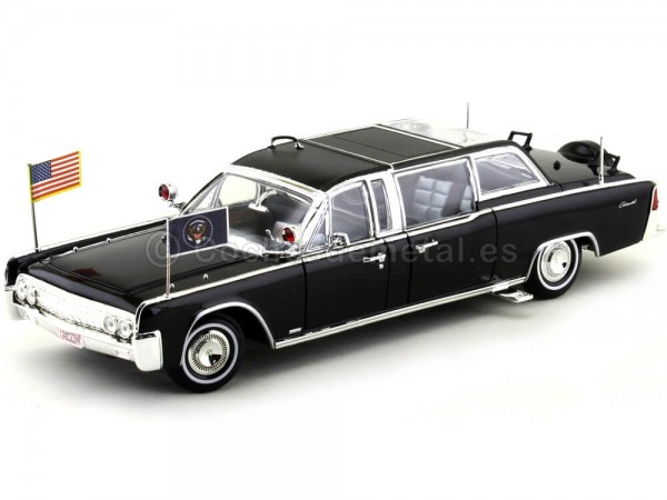 1961 Lincoln X-100 Quick Fix Limousine 1:24 Lucky Diecast 24078 Cochesdemetal.es