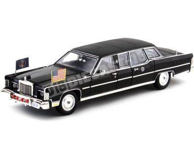 1972 Lincoln Continental Reagan Car Limousine 1:24 Lucky Diecast 24068 Cochesdemetal.es