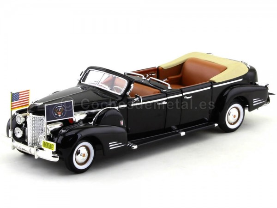 1938 Cadillac V-16 Presidential Limousine 1:24 Lucky Diecast 24028 Cochesdemetal.es