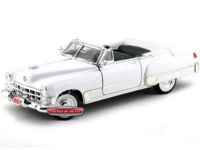 1949 Cadillac Coupe De Ville Convertible Blanco 1:18 Lucky Diecast 92308 Cochesdemetal.es