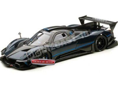 2013 Pagani Zonda Revolution Blue-Black Carbon Fiber AUTOart 78273 Cochesdemetal.es