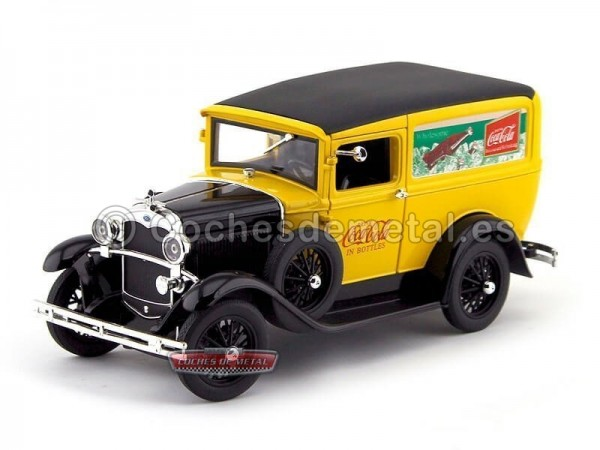 "1931.- FORD MODEL A DELIVERY VAN ""COCA-COLA"" (MC425752). Cochesdemetal.es"