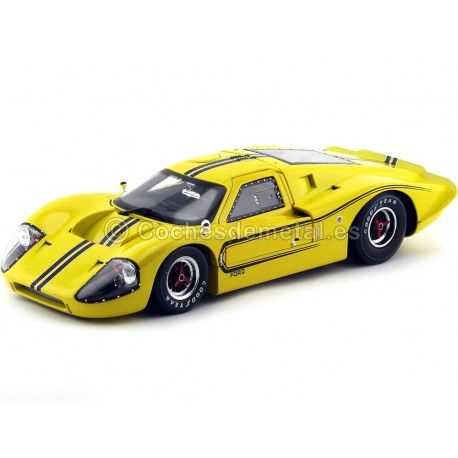 1967 Ford GT40 Mark IV Amarillo 1:18 Shelby Collectibles 422 Cochesdemetal.es