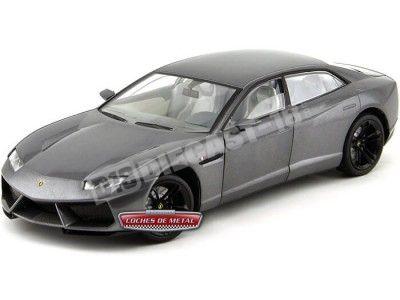 2008 Lamborghini Estoque Gris 1:18 Motor Max 79157 Cochesdemetal.es