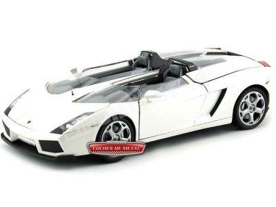 "2005 Lamborghini Concept ""S"" Blanco 1:18 Motor Max 79156 Cochesdemetal.es"