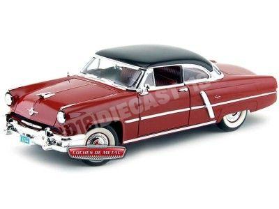 1952 Lincoln Capri Granate Metalizado 1:18 Lucky Diecast 92808 Cochesdemetal.es