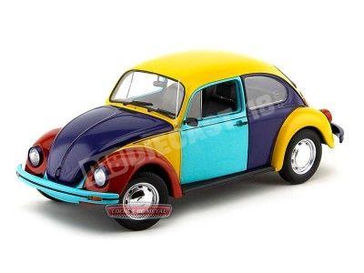 1996 Volkswagen Escarabajo 1200 Sedan Arlequin 1:18 Minichamps 150057102 Cochesdemetal.es
