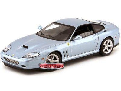 "2003 Ferrari 575M Maranello ""Bad Boys II"" 1:18 Hot Wheels Elite P9906 Cochesdemetal.es"