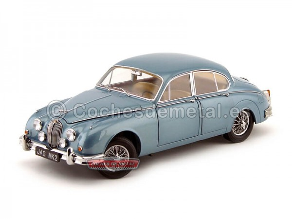 1962 Jaguar Mark II 3.8 Opalescent Blue Paragon Models 98321 Cochesdemetal.es