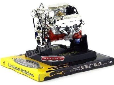 Motor Chevrolet Block Street Rod 1:6 Liberty Classics 84026 Cochesdemetal.es