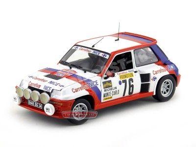 "1988 Renault 5 Turbo Rally Monte Carlo ""Carrefour"" 1:18 Universal Hobbies 4553 Cochesdemetal.es"