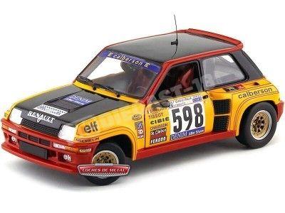 "1979.- RENAULT 5 TURBO ITALY RALLYE ""Calberson"" Universal Hobbies 4552 Cochesdemetal.es"