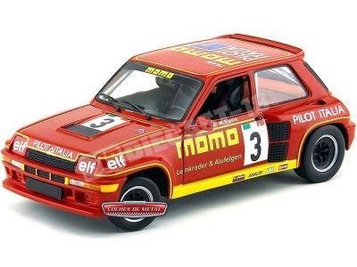"""1984.- Renault 5 Turbo R5 CUP """"MOMO"""" Universal Hobbies 4546 Cochesdemetal.es"""