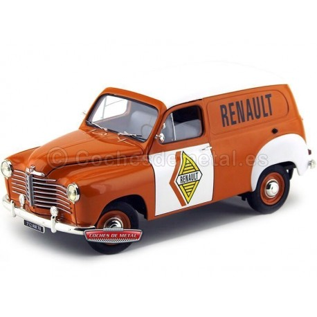 """1953 Renault Colorale Fourgon """"Service Renault"""" 1:18 Solido S1850009 Cochesdemetal.es"""