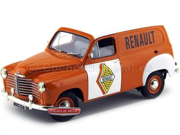 "1953 Renault Colorale Fourgon ""Service Renault"" 1:18 Solido S1850009 Cochesdemetal.es"