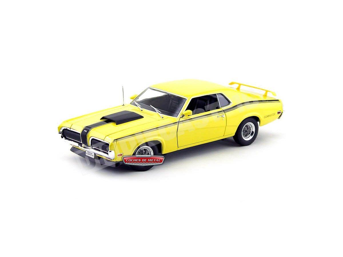 Buick GSX 1970 Coupe amarillo 1//24 Welly modelo coche con o sin individiuellem...