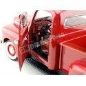 1951 Ford F-1 Pick Up Granate Metalizado 1:18 Welly 19847 Cochesdemetal.es