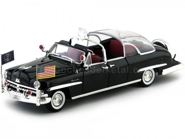 1950 Lincoln Cosmopolitan Bubble Top Limousine 1:24 Lucky Diecast 24058 Cochesdemetal.es