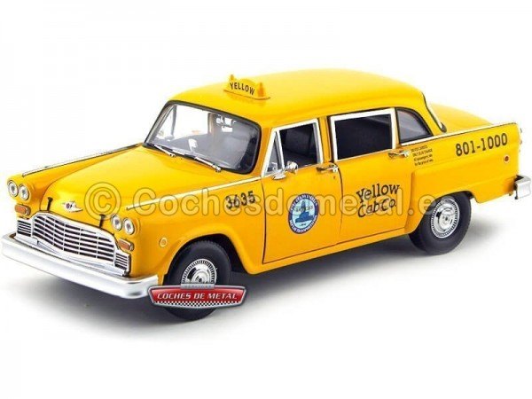 1981 Checker A11 Los Angeles Cab Taxi 1:18 Sun Star 2503 Cochesdemetal.es