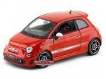 2008 Fiat 500 Abarth Rojo 1:18 Bburago 12078