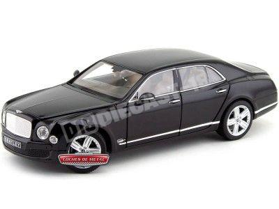 2014 Bentley Mulsanne Metallic Black 1:18 Rastar 43800 Cochesdemetal.es