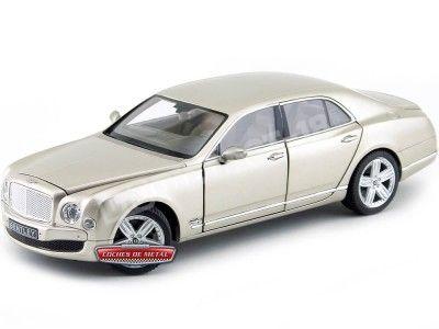 2014 Bentley Mulsanne Champagne 1:18 Rastar 43800 Cochesdemetal.es