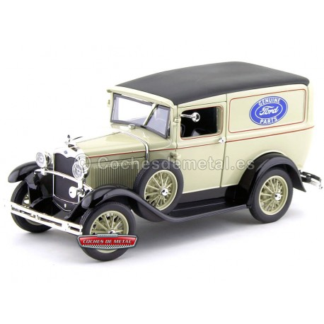 """1931 Ford Model A Delivery Truck """"Service Ford"""" 1:18 Signature Models 18137 Cochesdemetal.es"""