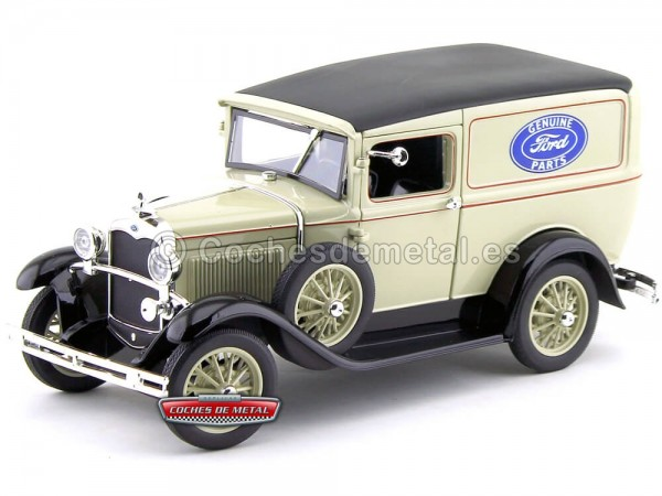 "1931 Ford Model A Delivery Truck ""Service Ford"" 1:18 Signature Models 18137 Cochesdemetal.es"