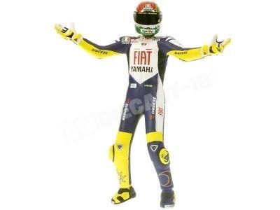 Figura Valentino Rossi MOTOGP 2008 MISANO Minichamps 312080146 1:12. Cochesdemetal.es