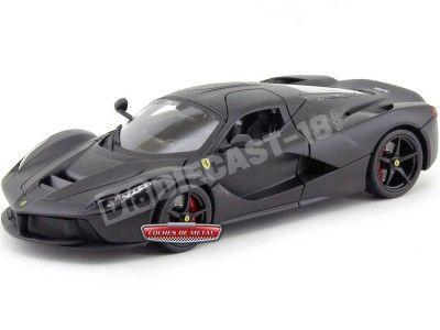 2015 Ferrari F70 LaFerrari Negro Mate 1:18 Bburago Signature Series 16901 Cochesdemetal.es