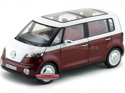 2011 Volkswagen Bulli Studia Concept Car Granate-Blanco 1:18 Norev 7E9099302BL9 Cochesdemetal.es