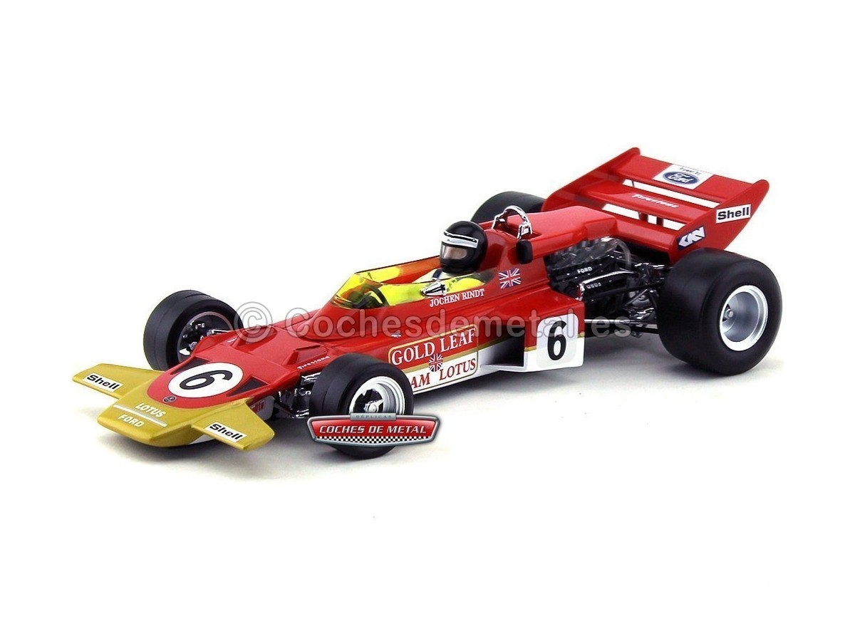 "1970 Lotus Type 72C ""Australian Grand Prix"" 1:18 Quartzo 18272 Cochesdemetal.es"
