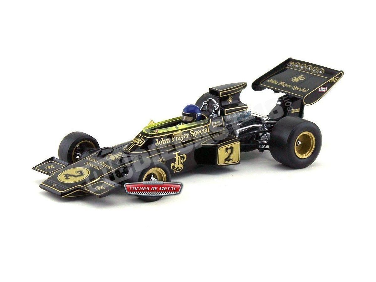 "1973 Lotus Type 72E ""Italian Grand Prix Winner"" 1:18 Quartzo 18292 Cochesdemetal.es"