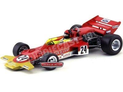 """1970 Lotus Type 72C """"USA Grand Prix Winner"""" 1:18 Quartzo 18270 Cochesdemetal.es"""