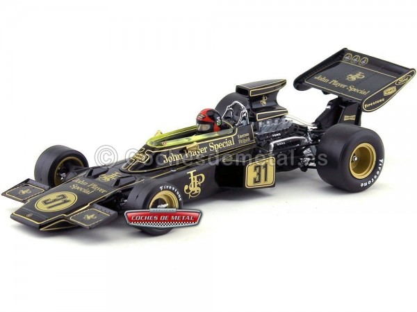 "1972 Lotus Type 72D ""Austrian Grand Prix Winner"" 1:18 Quartzo 18291 Cochesdemetal.es"