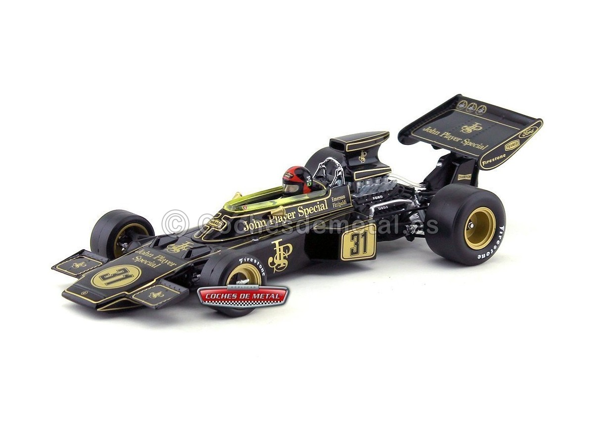 "1972 Lotus Type 72D ""Austrian Grand Prix Winner"" 1:18 Quartzo 18291 Cochesdemetal.es"