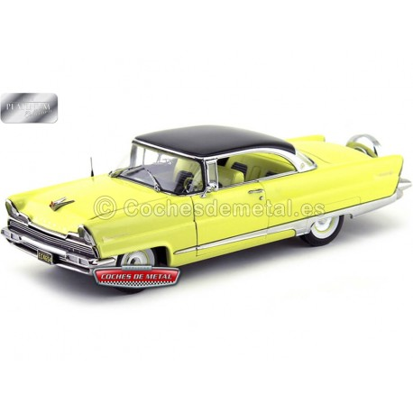 1956 Lincoln Premiere Hard Top Black-Yellow 1:18 Sun Star 4654 Cochesdemetal.es