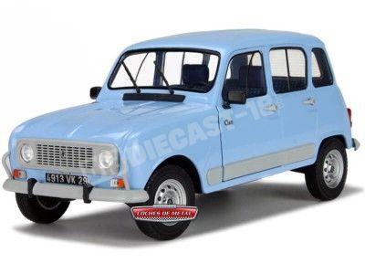 1988 Renault R4 4L GTL Clan Blue Jacinthe Solido S1800103 Cochesdemetal.es