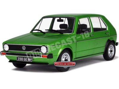 1980 Volkswagen Golf 1 CL Viper Green 1:18 Solido 1800203